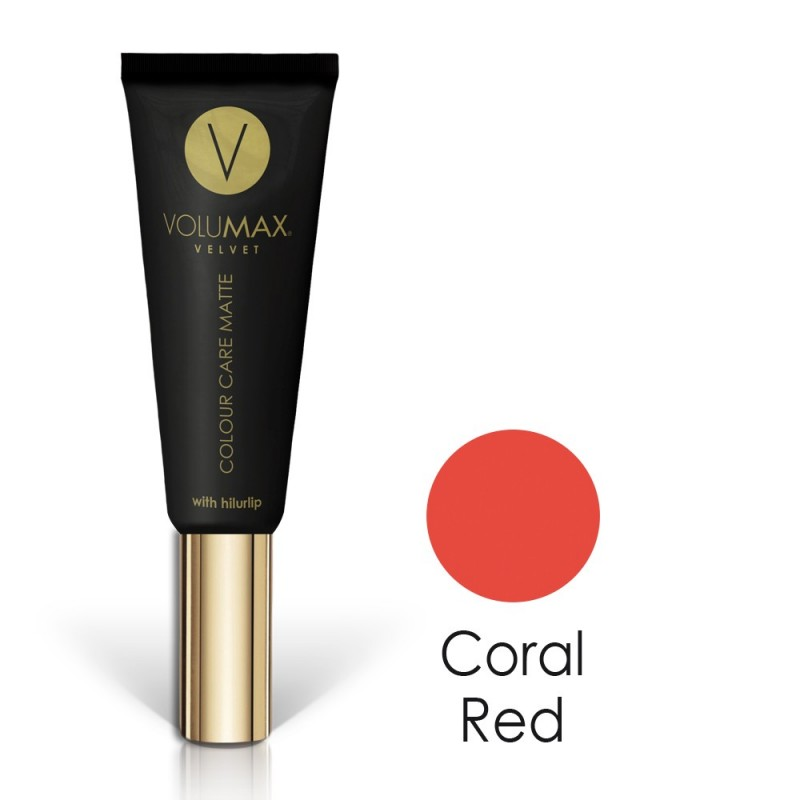 VELVET MATTE FINISH Coral red